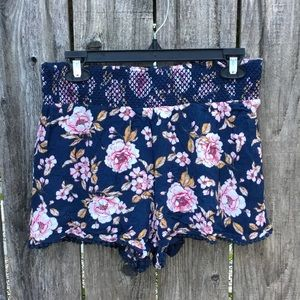 Lauren Conrad floral shorts